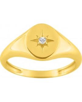 Chaîne Forçat diamantée en argent massif 925/000 / 45 cm