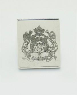 Chevalière MOROCCO SARALINKA argent massif diamants