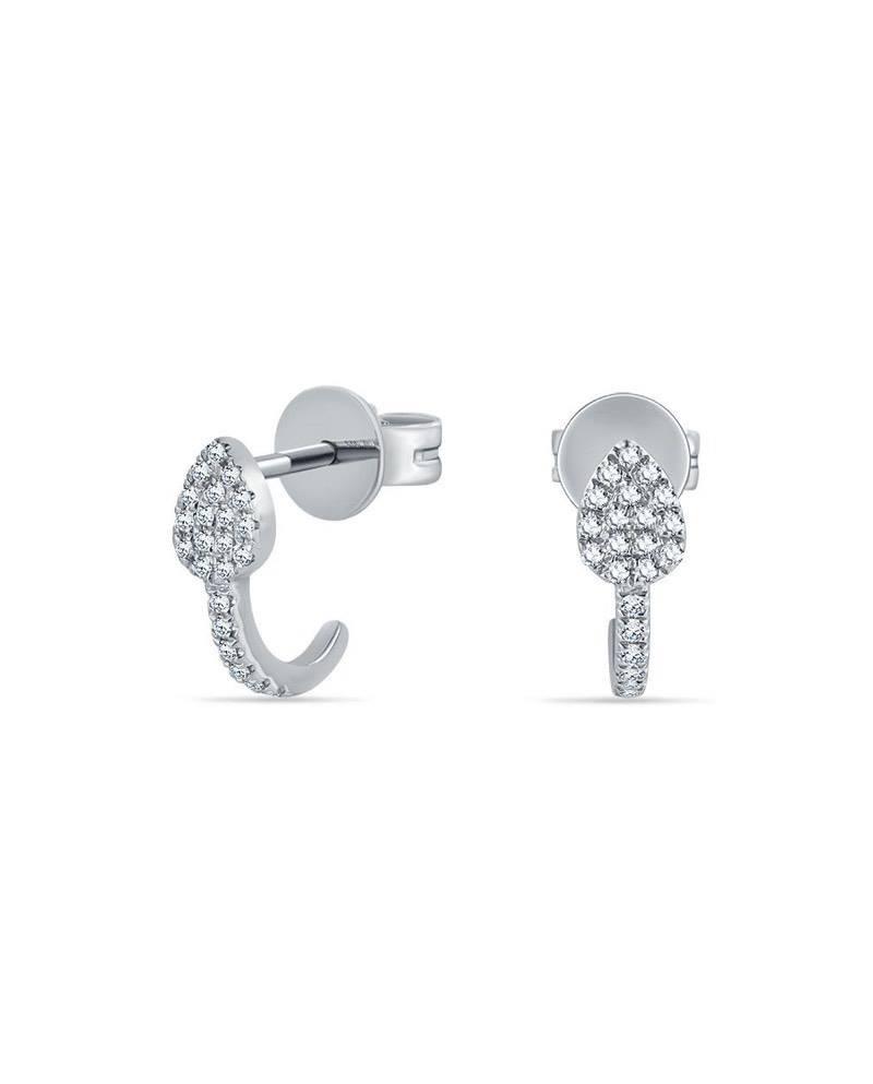 diamants fleche earrings boucles oreilles