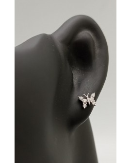 Boucles d'oreilles faracha en or blanc 750/°°° diamants
