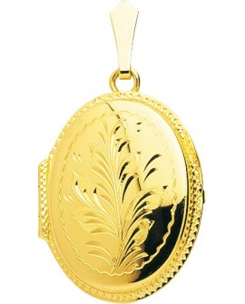 pendentif porte photo en or jaune 750/°°° neuf